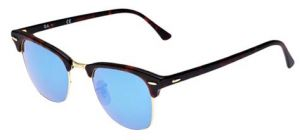 97ef33b6255 Ray-Ban Clubmaster Unisex Sunglasses - RB3016 114517-49-20-140