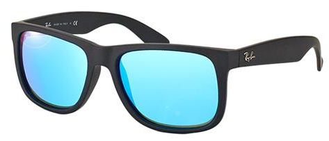 85dc93e5fb Ray-Ban Square Unisex Sunglasses -RB4165-622 55