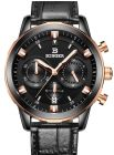 Binger Dress Watch For Men Analog Leather - B9011-3 (Watch)