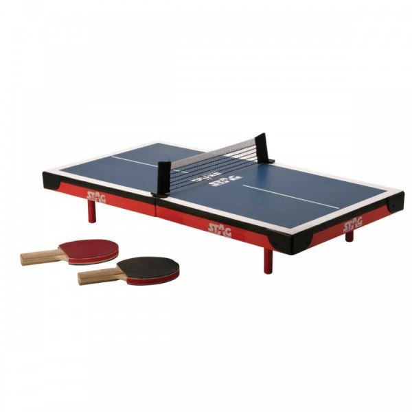 souq | stag stag-116 super mini table tennis table, blue/red | uae