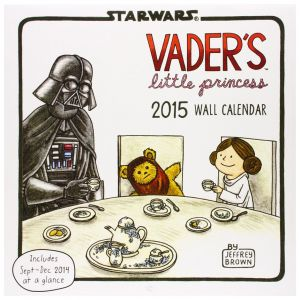 Vader's Little Princess 2015 Wall Calendar by Jeffrey Brown