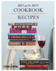 Food & Wine Best of the Best Cookbook Recipes - Hardcover