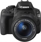 Canon EOS 100D EF-S 18-55 III KIT Black Camera , 8GB SD Card And Case (Digital Camera)