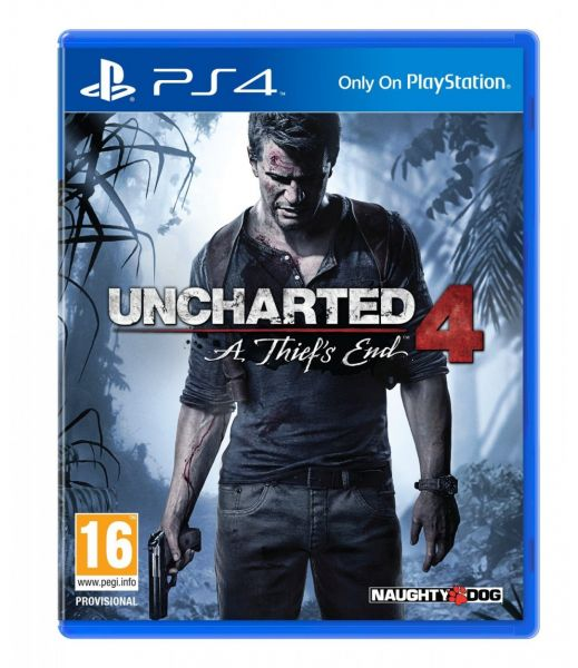 Uncharted 4: A Thief's End by Naughty Dog - PlayStation 4