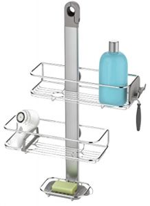 simplehuman stainless steel and aluminum adjustable shower caddy