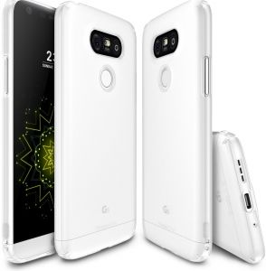 Rearth LG G5 Ringke Slim Light Weight Frost Premium Case Cover - White