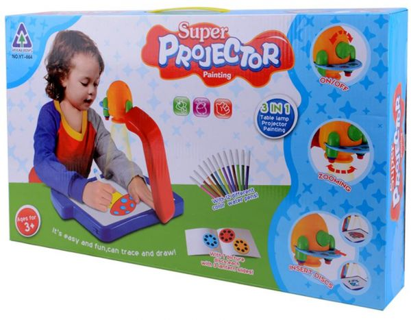 projector painting learning desk easel game play set for kids ksa
