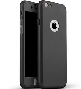 360 Degree Full Body Protection Case for iPhone 6 Plus / 6S Plus - Black