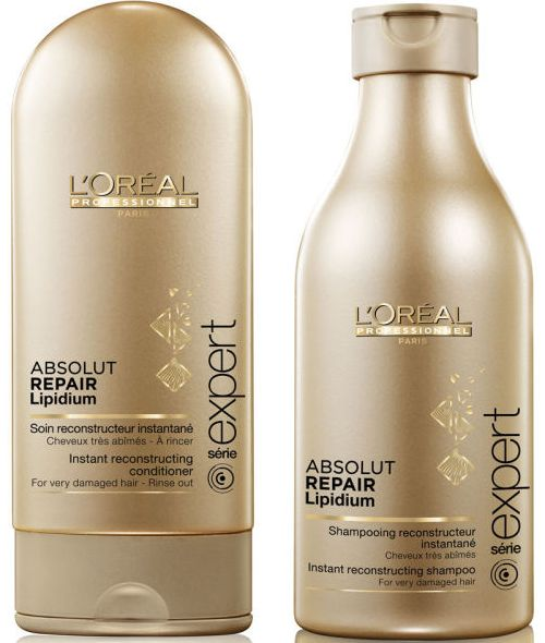 LOreal Professionnel Absolut Repair Lipidium Shampoo 250ml und ... f22832f8d2