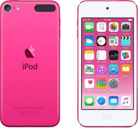 Apple iPod touch 6th Generation - 128GB, Pink