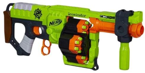 Nerf Zombie Strike Doominator B1532 Activity Toy