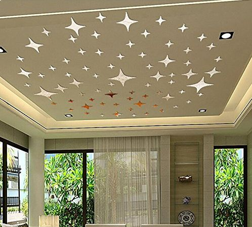 Bling Stars Diy Acrylic Removable Wall Stickers Decal Room Wallpaper