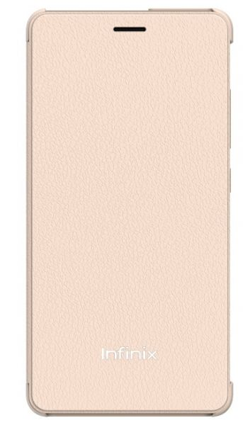 new products 1ef2e 7ceda Infinix Smart Flip Cover for Infinix X553 / X554- Hot 3, Champagne