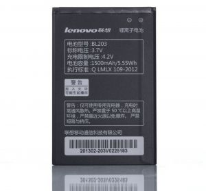 mobile battery BL203 Lenovo 2000mAh for A369