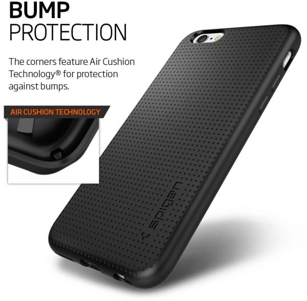 newest 80a02 ccfec Spigen iPhone 6S / 6 Liquid Armor cover / case - Black