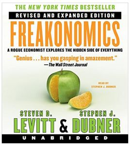 Freakonomics Rev Ed Unabridged CD by Steven D. Levitt
