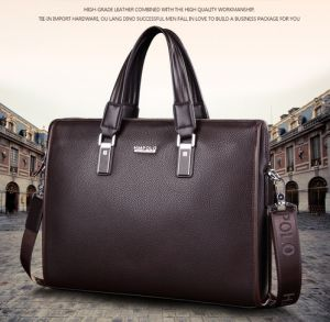 25592fac44 Man genuine leather bag commercial men briefcase designer handBag shoulder  Bag business bag BY-74