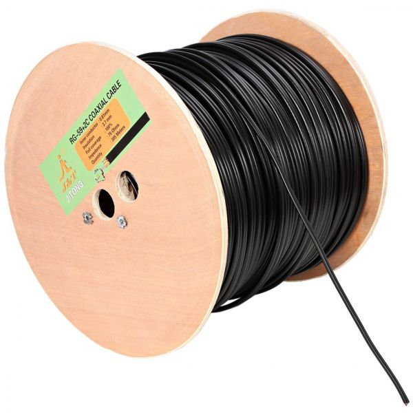 305 Meter RG59 Power Cable Bundle Price Review And Buy In Dubai