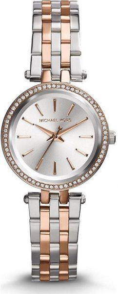 Michael Kors Darci Women s Silver Dial Stainless Steel Band Watch - MK3298 9c1949e628
