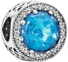 Pandora Women's Silver Radiant Hearts Spacer Charm - 791725NBS (Charm)