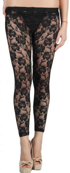 5a335924d7caf N-Gal Lvl00014 Black Transparent Leggings - Free Size, Black | Souq ...