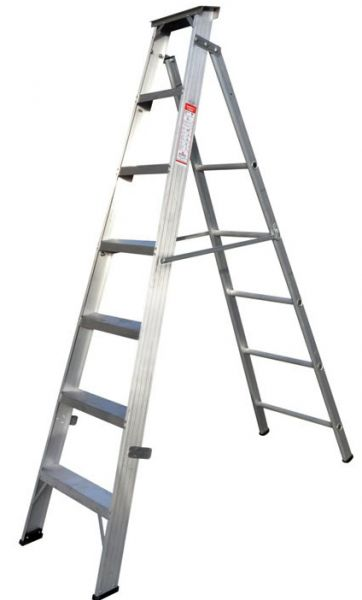 Zamil Aluminium 6 Step Ladder - [DPL/6]
