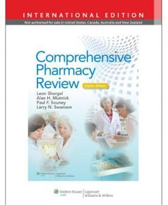 Comprehensive Pharmacy Review by Leon Shargel and Paul F. Souney - Hardcover