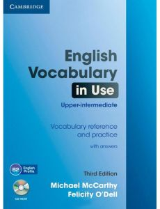 English Vocabulary in Use Upper intermediate with Answers 3rd Revised Edition by Michael J. McCarthy - Mixed Media