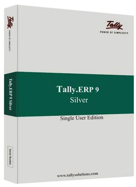 Tally Erp 9 Silver (single User)
