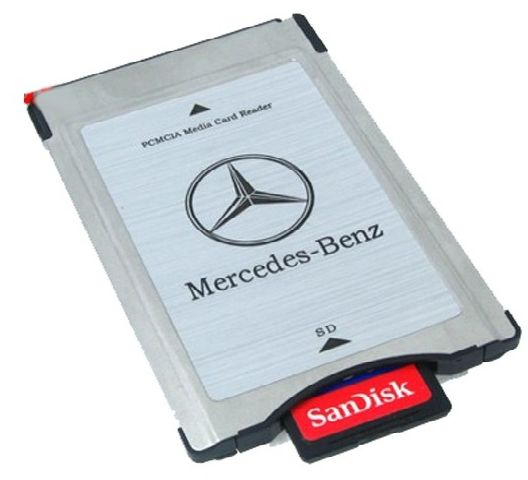 Souq card adapter pcmcia for mercedes benz cars uae for Pcmcia card for mercedes benz