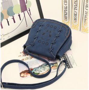 Fashion Blue Shoulder Bag For Women Hollow Butterfly Crossbody Bag Summer  Style Ladies HandBag 7e808d64f1a81