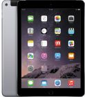 Apple iPad Air 2 with Facetime Tablet - 9.7 Inch, 16GB, 4G LTE, Space Gray (Tablet)