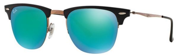 76c5a0ebf6 Ray-Ban Light Ray Mirror Collection Clubmaster Sunglasses for Unisex ...
