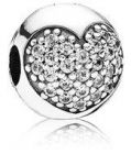 Pandora Women's Sterling Silver Love Of My Life Clip - 791053CZ (Charm)