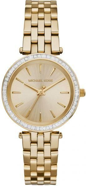 Analog digital watches michael kors souq michael kors mini darci watch for women analog stainless steel band mk3365 gumiabroncs Images