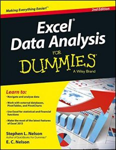 Excel Data Analysis For Dummies by Stephen L. Nelson - Paperback