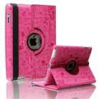 360 Degree leather case cover for iPad 2 and 3 pink (Tablet Accessory)