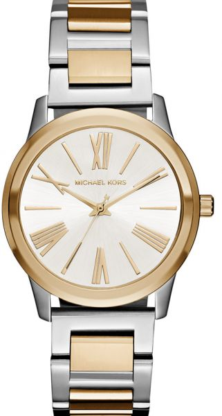 578ab6bc0fe7 Michael Kors Hartman Watch for Women - Analog Stainless Steel Band ...