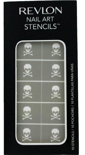Revlon nail art stencils skulls price review and buy in dubai 2507 aed prinsesfo Choice Image