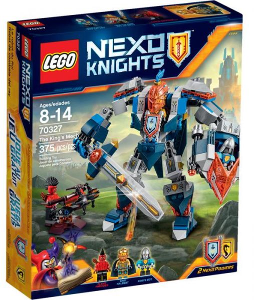 Lego Nexo Knights The King's Mech 70327 Building Set, price ...