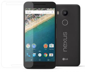 LG Nexus 5X (Arc Edge) - 0.3mm Tempered Glass Screen Protector Film