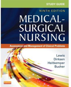 Medical-Surgical Nursing Assessment and Management of Clinical Problems Ninth Edition by Sharon L. Lewis - Paperback