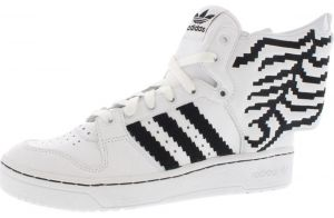 Adidas White Fashion Sneakers For Men