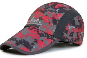 Women Camouflage Military Hats Outdoor Sun Hat Sports Baseball Cap  Quick-dry Breathable Caps 3c0dfa5a9cf1