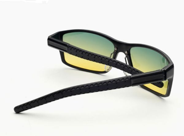 fa2eed0b2c4f High-end aluminum magnesium driving polarized sunglasses for day and night  for men 8554-1
