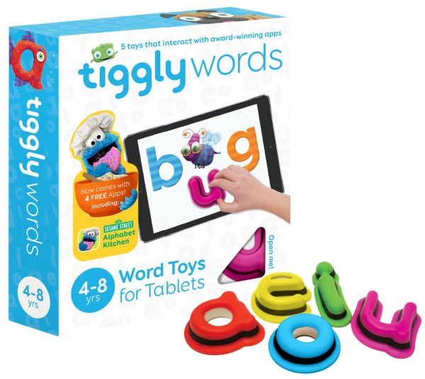 This item is currently out of stock Tiggly Words Interactive Learning Toy for Kids 4-8 years | Souq - UAE
