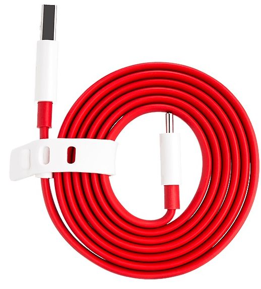OnePlus Dash Charge Type-C Cable - 100cm, Red
