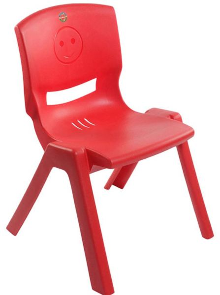 Cello Rock Kids Chair   Red
