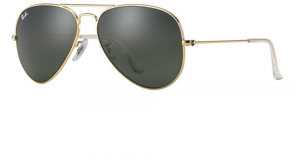 139cdcf573e Ray Ban Aviator Classic Gold Unisex Sunglasses - RB3025-L0205-58-14-135