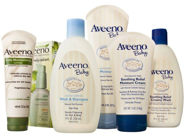 Aveeno Baby And Mother Essential Daily Care Set 6 Pcs